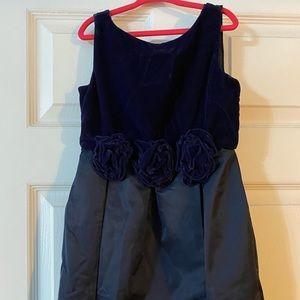 Size 6 navy Janie and jack dress